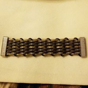 Jewelry - Magnatized bracelet gold, bronze & black colored